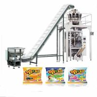 China Good price Sugar multihead weigher VFFS,Packaging machine multihead weigher VFFS for bag pouch wholesale