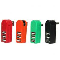 China Special design 3 fast micro mobile usb hub 270 degree rotate wholesale