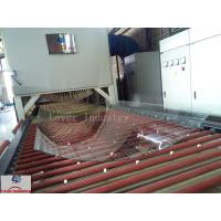 China Jumbo Glass Tempering Glass Bending Furnace Soft Rollers Bending Type wholesale