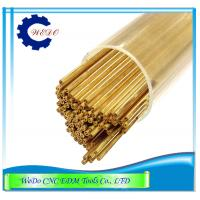 China 0.6x400mmL Double Hole EDM Brass Tube / Eletrode Pipe For EDM Drilling Machine wholesale