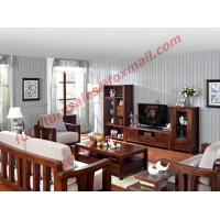 High Quality Solid Wooden Frame with Upholstery Sofa Set