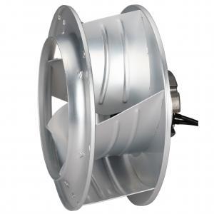 China Metal Aluminum Sheet DC Centrifugal Fan 310 Backward Curved 48V High Efficiency Medical Ventilation wholesale