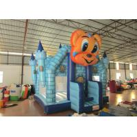 China Cartoon Commercial Bounce House , Attractive Inflatable Bounce House 5 X 5m wholesale