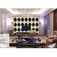 China Art glass combined / Spell Mirror Glass Background walls wholesale