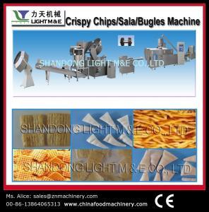 China Puffy food machine Crispy chips/sala/bugles process line wholesale
