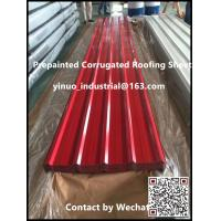 China High Quality PPGI Corrugated Metal Roofing Steel Sheet 0.15-0.8mm China Supplier on sale
