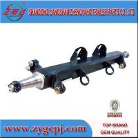 China 16ton German style trailer axle tube on sale