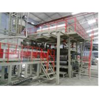 China Flex Banner Plastic Sheet Extrusion Line High Precision PLC Control System on sale