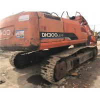 China used doosan dh300-5/dh300lc-7/dh370 original chain excavator for sale/30ton doosan excavator with low price wholesale
