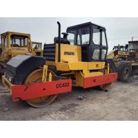 China Used Dynapac CC422 Double-Drum Road Roller For Sale wholesale