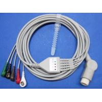 China TPU Mindray One - piece 5 - Lead ECG cable , Patient Monitor Accessories wholesale