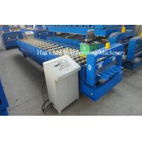 China Rows of rollers 19 rows Roof Sheet Roll Forming Machine wholesale