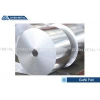 China Thermal Stability CuNi44 Copper Nickel Alloy Foils FOR marine equipment wholesale