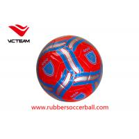 China Multi colour Size 5 Original Soccer Balls with PVC PU / TPU official soccer ball wholesale