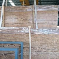 China French River Golden Marble Stone Slab / Natural Stone Marble Eco - Friendly wholesale