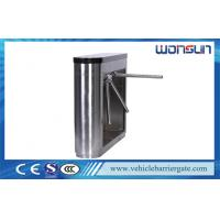 Quality IC And ID Card Traffic Tripod Turnstile Barrier Gate With Locked-Rotor Auto - Detection for sale