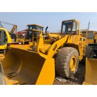 China Yellow Color Used Wheel Loader Heavy Construction Equipment 3m3 Bucket Capacity on sale