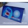 Buy cheap Perspex menu hiển thị Chủ Acrylic Bảng Tent Đối Hotel And Restaurant from wholesalers