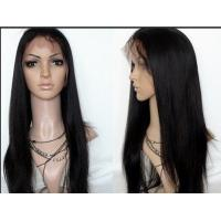 China Natural Black Lace Front Human Hair Wigs Shedding Free Queenlike Hair wholesale