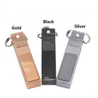 China Flameless Electric USB Rechargeable Lighter Zinc Alloy With Bottle Opener wholesale