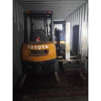 China 2 Units Toyota 3 ton Forklift Sold To Omen wholesale