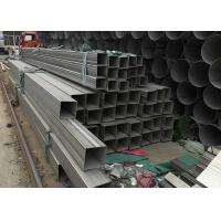China 201 304 316L 321 Stainless Steel Rectangular Hollow Section 5.8mm--6m Length wholesale