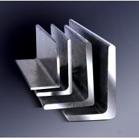 Buy cheap Galvanized Steel Angle , Aluminum Angle Bar Low Carbon Hardened Steel from wholesalers