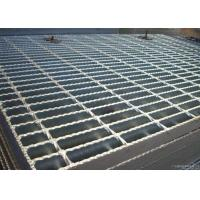 ISO9001 Serrated Steel Grating For Flooring Customized Cross Bar Spacing