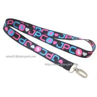 China Exhibition Meeting Dye Sublimation Lanyard, Gifts Promotion Custom Logo Printed Dye Printing Lanyard wholesale