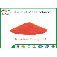 China ISO Fabric Color Dye Reactive Brill Orange K-7R C I Reactive Orange 13 wholesale