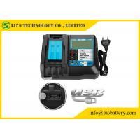 China 14V-18V Universal Tool Battery Charger New Replacement With LCD Screen USB Port on sale