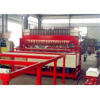 China High Strength Reinforcing Mesh Welding Machine , 5 - 12mm Fencing Wire Machine wholesale