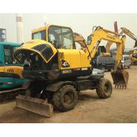 China secondhand original hyundai R60W-7Wheel  Excavator wholesale
