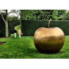 China Large Bronze Statue Apple Sculpture Contemporary For Garden Decoration wholesale