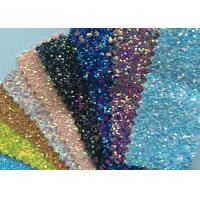 "China Fashion Chunky Glitter Fabric 3D Glitter Fabric For Hairbows 54/55"" Width wholesale"