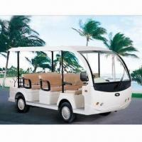 China 8-seater Electric Touring Bus with Automotive Windshield and Two Sides View Mirrors wholesale