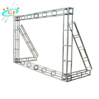 China Integrated equipment supply for activity planning/Outdoor truss system LED screen display goalpost wholesale