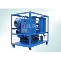 China Siemens PLC Transformer Oil Processing Equipment , Insulating Oil Cleaning Equipment wholesale