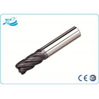 China 2 Flute Corner Radius End Mill Tungsten Steel for Slotting / Milling / Roughing To Finishing wholesale