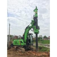 Quality Pile Drilling Machine / Rotary Piling Rig for Construction Stratum Bored Max Torque 40KN.m wholesale