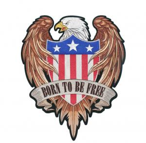 China US Eagle Motorcycle Biker Patch wholesale