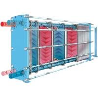 Titanium Plate Heat Exchanger Stainless Steel with sea water for Ship lubricating oil cooling