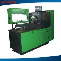 Quality Custom 22KW large torque fuel pump test bench equipment 12 cylinders / LCD monitor for sale