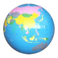 China Personalized Pvc Inflatable Globe Beach Balls With Earth Map For Outdoor Activities wholesale
