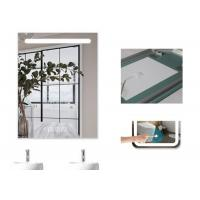 China Dimmable Anti Fog Lighted Bathroom Vanity Wall Mirror With Demister 700 X 900mm Size wholesale