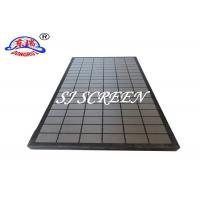China Oil Field Drilling Rock Shaker Screen Higher Flow Rate Heat - Resistant wholesale