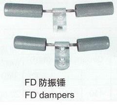 China Pole Line Hardware Aluminum Alloy Vibration Damper High Tensile Strength wholesale