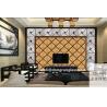 China Hot sale !!! Beautiful Art decorative TV wall backgrouns glass wholesale