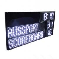 China High Brightness AFL Electronic Soccer Scoreboard Led Cricket Scoreboard With Led Team Name wholesale