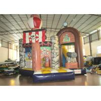 Commercial Pirate Ship Bounce House , Indoor Playground Pirate Ship Bouncer 5 X 6m